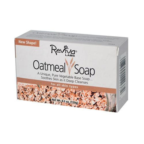 Reviva Labs Oatmeal Soap - 4.5 Oz - Humble + Lavi