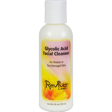 Reviva Labs Glycolic Acid Facial Cleanser - 4 Fl Oz - Humble + Lavi