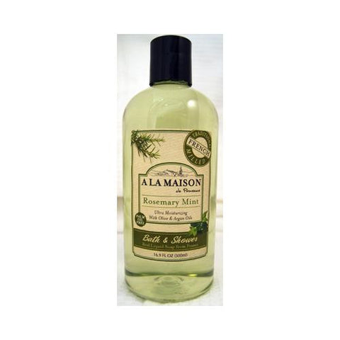 A La Maison Shower Gel - Rosemary Mint - 16.9 Oz - Humble + Lavi