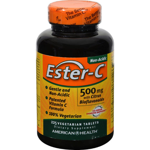 American Health Ester-c With Citrus Bioflavonoids - 500 Mg - 225 Vegetarian Tablets - Humble + Lavi