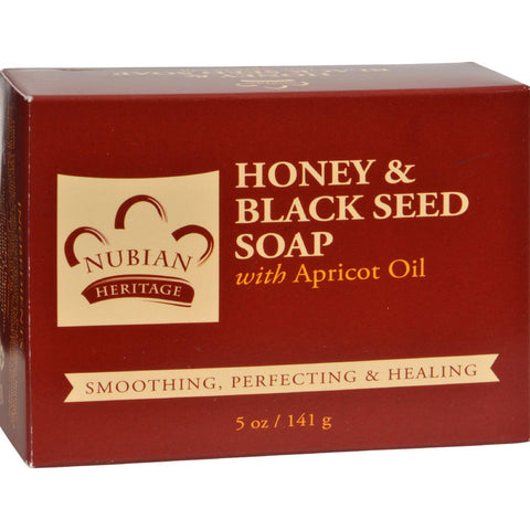 Nubian Heritage Bar Soap Black Seed - 5 Oz - Humble + Lavi