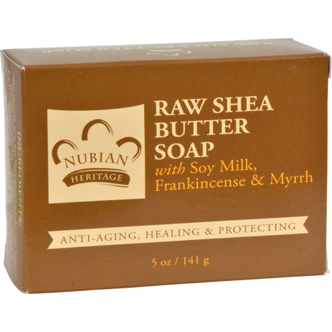 Nubian Heritage Bar Soap Raw Shea Butter - 5 Oz - Humble + Lavi