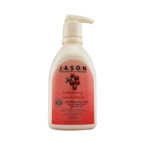Jason Satin Shower Body Wash Cranberry - 30 Fl Oz - Humble + Lavi
