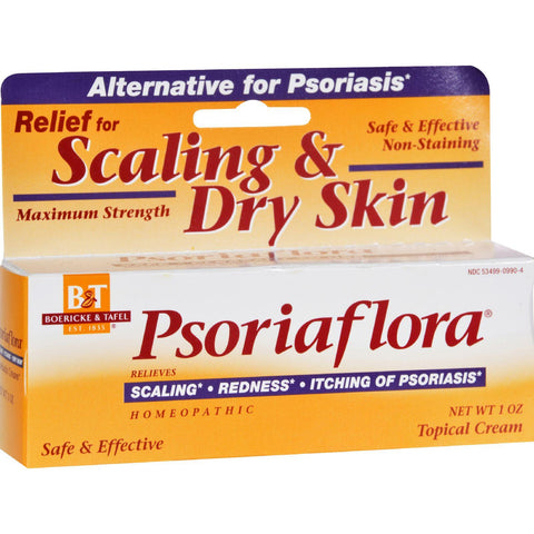Boericke And Tafel Psoriaflora Topical Cream - 1 Oz - Humble + Lavi