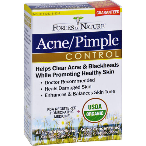 Forces Of Nature Organic Acne And Pimple Control - 11 Ml - Humble + Lavi