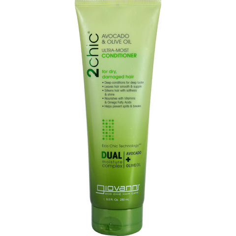 Giovanni Hair Care Products Conditioner - 2chic Avocado And Olive Oil - 8.5 Oz - Humble + Lavi