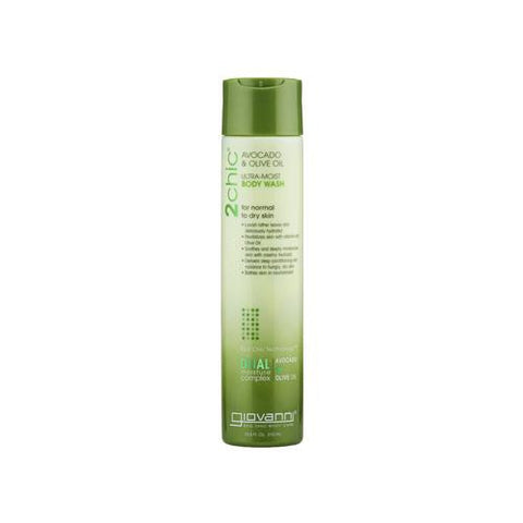 Giovanni Hair Care Products 2chic Body Wash - Ultra-moist Avocado And Olive - 10.5 Fl Oz - Humble + Lavi