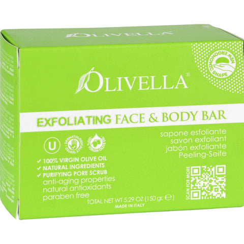 Olivella Bar Soap - Face And Body - Exfoliating - 5.29 Oz - Humble + Lavi