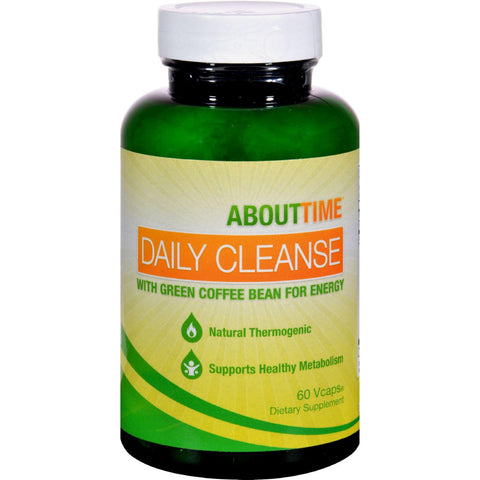 About Time Daily Cleanse With Green Coffee Bean - 60 Vegetarian Capsules - Humble + Lavi