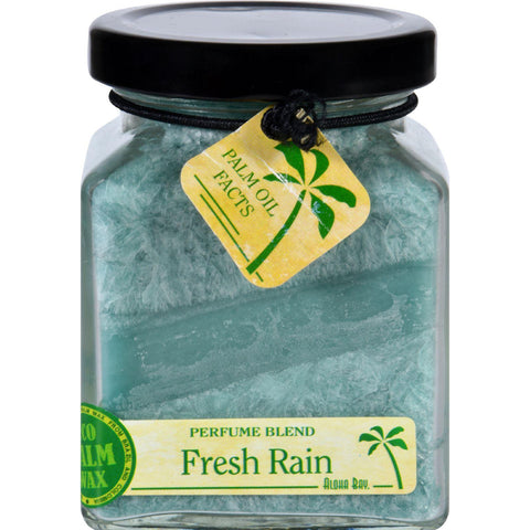 Aloha Bay Candle - Cube Jar - Perfume Blends - Fresh Rain - 6 Oz - Humble + Lavi