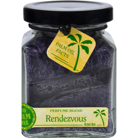 Aloha Bay Candle - Cube Jar - Perfume Blends - Rendezvous - 6 Oz - Humble + Lavi