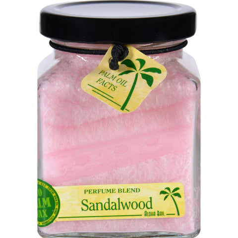 Aloha Bay Candle - Cube Jar - Perfume Blends - Sandalwood - 6 Oz - Humble + Lavi