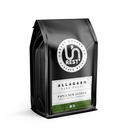 Allagash Coffee Package by Unrest Coffee in Hampden Maine