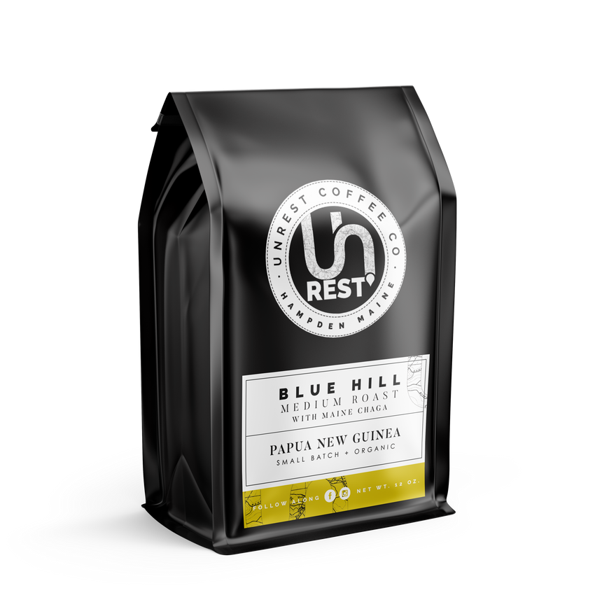BlueHill Coffee Package by Unrest Coffee in Hampden Maine