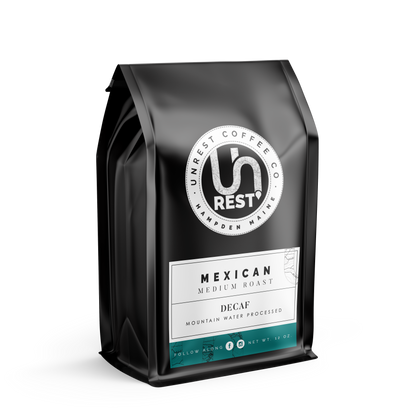 Mexican - Decaf by Unrest Coffee in Hampden Maine