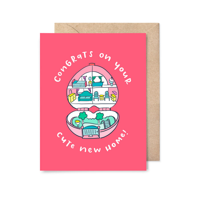 Cute New Home Card