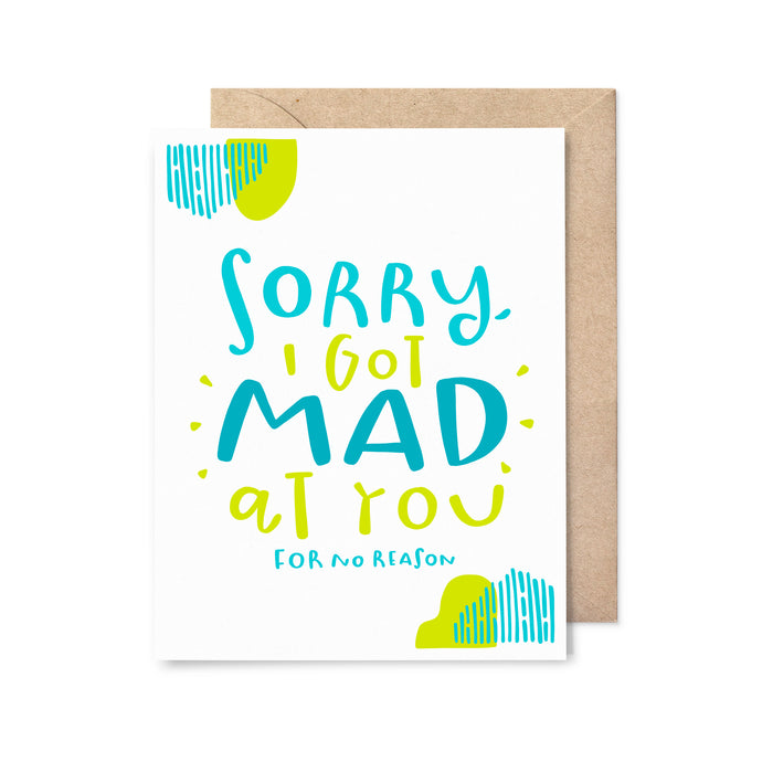 For No Reason Sorry Card