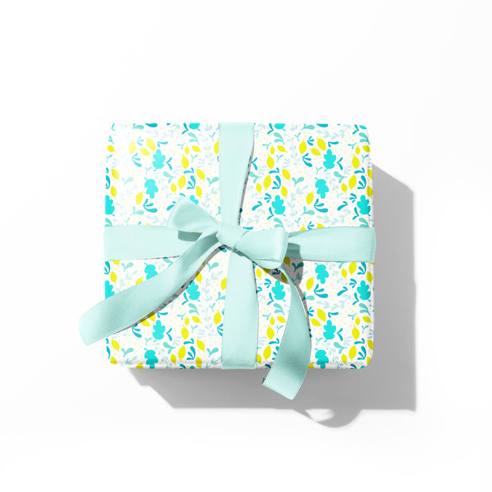 Morning Floral Gift Wrap