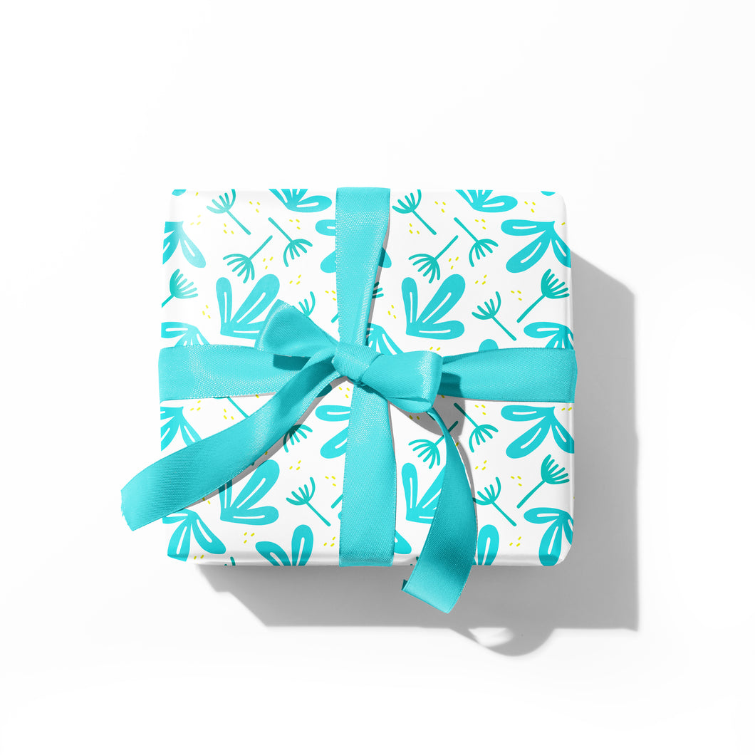 Oversized Tropic Gift Wrap