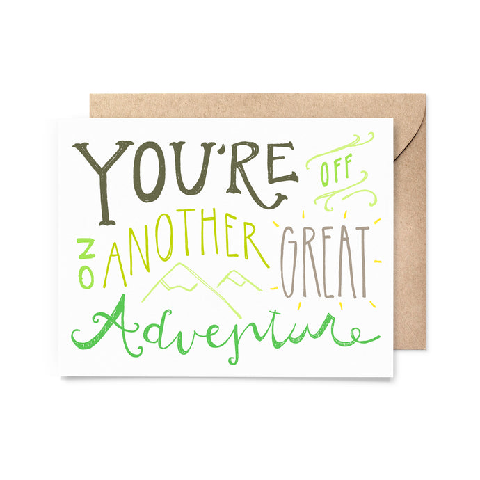 Great Adventure Encouragement Card