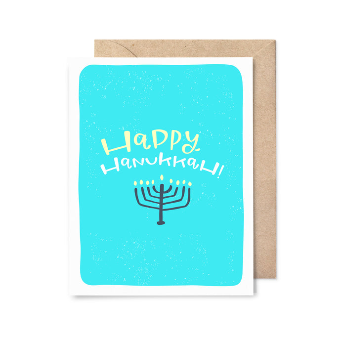 Happy Hanukkah Holiday Card
