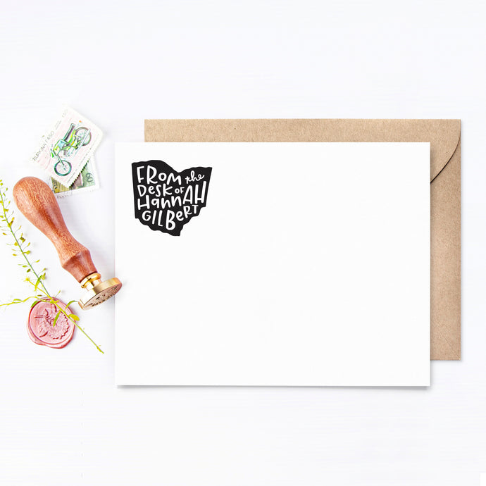 Home State Personalized Stationery