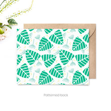 Load image into Gallery viewer, Monstera Personalized Stationery