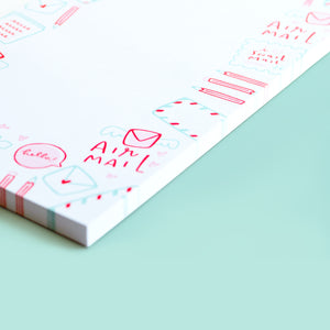 Snail Mail Notepad