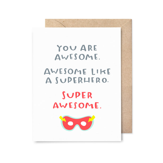 Super Awesome Congrats Card