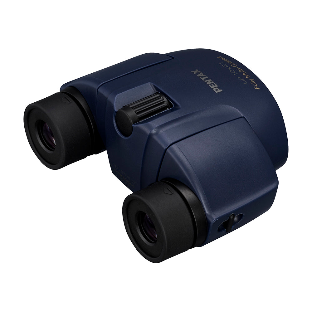 Pentax UP 10x21 Binoculars With Case - Navy