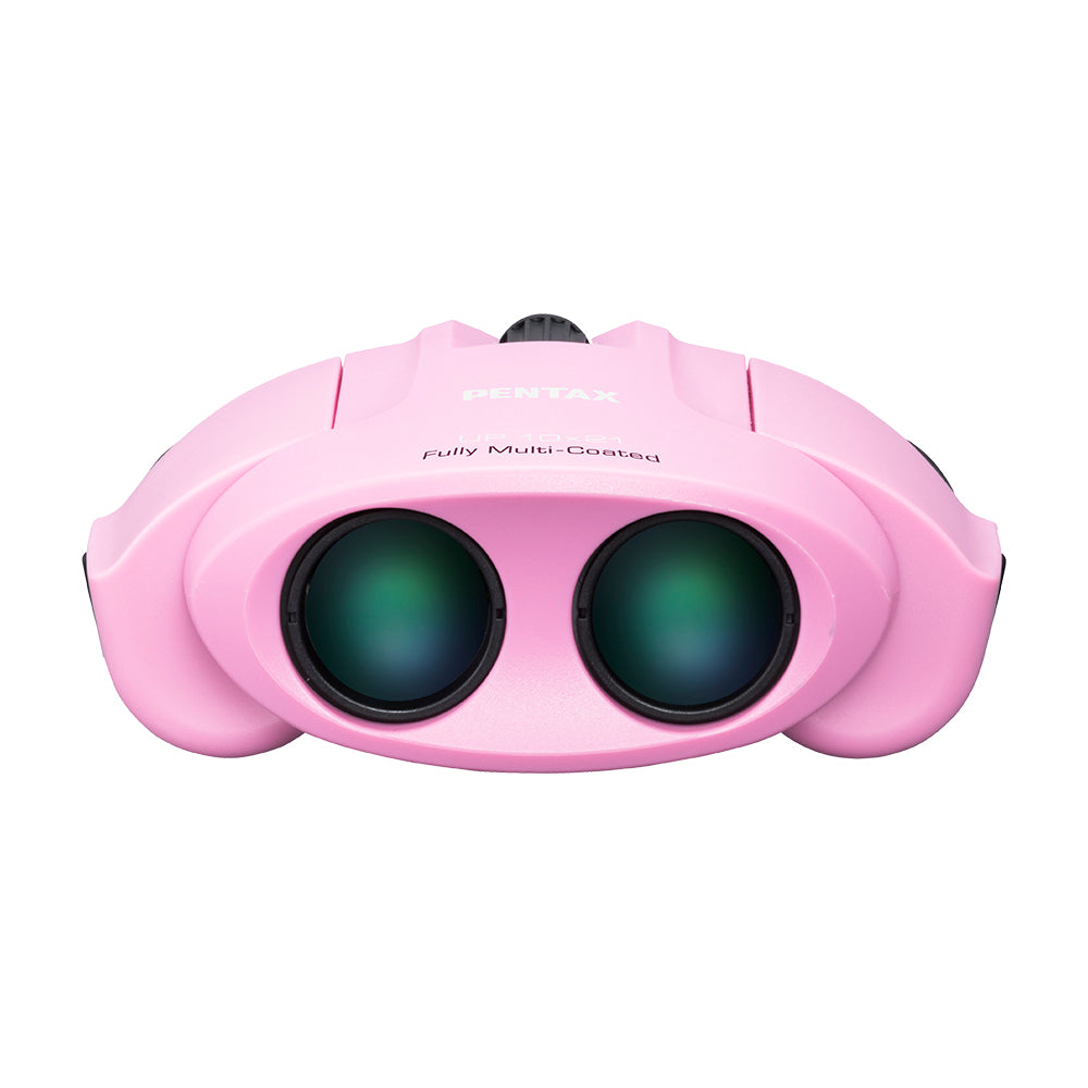 Pentax UP 10x21 Binoculars With Case - Pink
