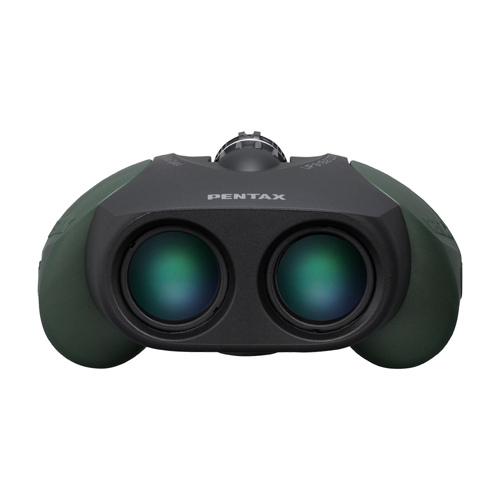 Pentax UP 8-16x21 Binoculars With Case - Green