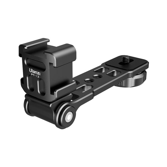 ULANZI | PT-13 Triple Cold Shoe Mount Plate Bracket