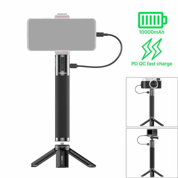 ULANZI BG-3 Power bank and Handle in 1 with tripod