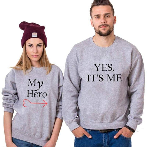 Pull Couple <br/> Héro