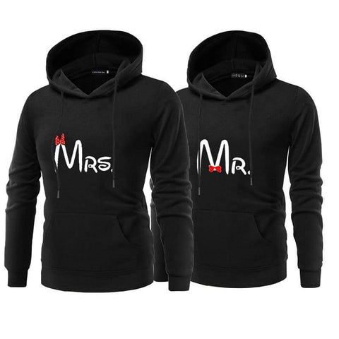 Sweat Couple <br/> Monsieur Madame