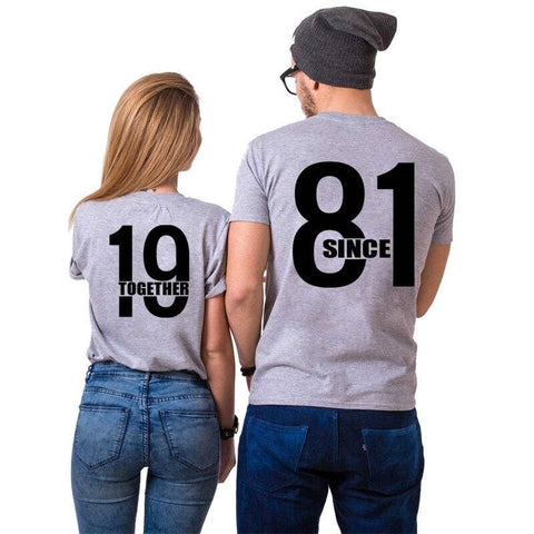 T Shirt Couple <br/> 1981