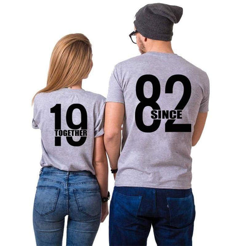 T Shirt Couple <br/> 1982