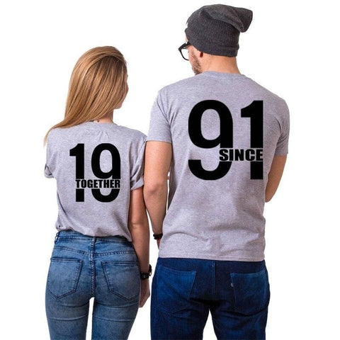 T Shirt Couple <br/> 1991