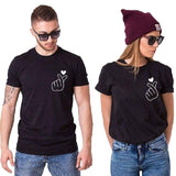 T Shirt Couple <br/> Don de Sentiments