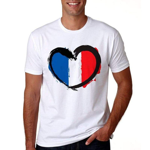 T Shirt Couple <br/> France