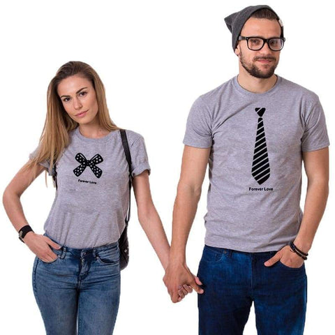 T Shirt Couple <br/> Classe