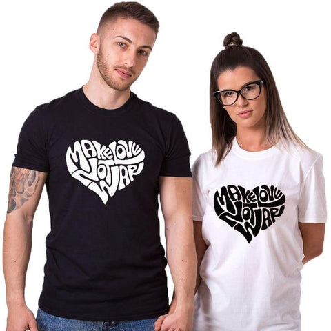 T Shirt Couple <br/> Coeur