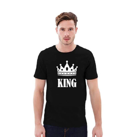 T Shirt Couple <br/> King et Queen