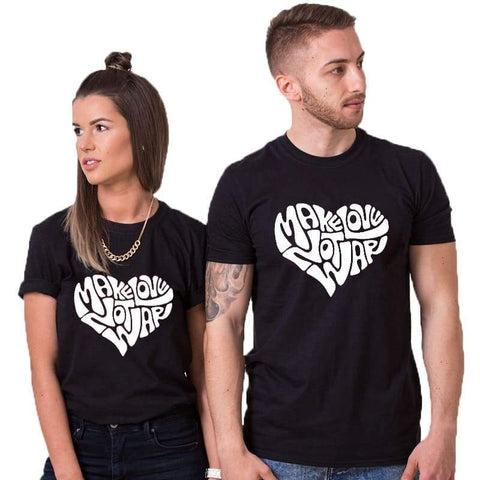 T Shirt Couple <br/> Make Love
