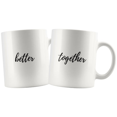 Better Together Couple tasses assorties