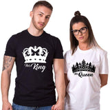 T Shirt Couple <br/> Royauté