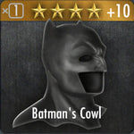 ✄ Batman's cowl