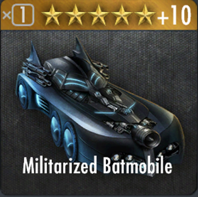 ✄ Militarized Bat Mobile