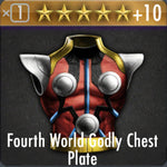 ✄ Fourth World Goldy Chest Plate